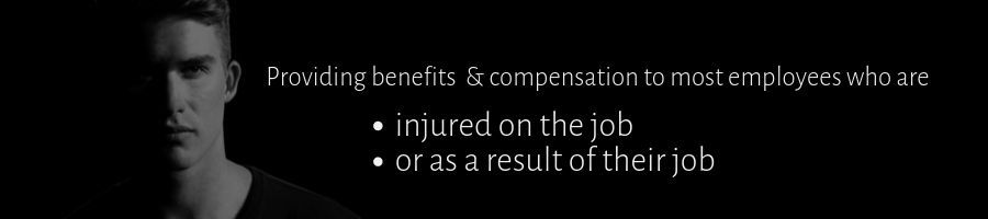 Benefits & Compensation for Injured Employees Banner